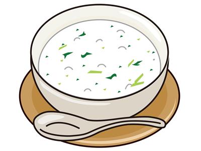 朝食の七草粥