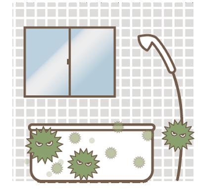 風呂のカビ
