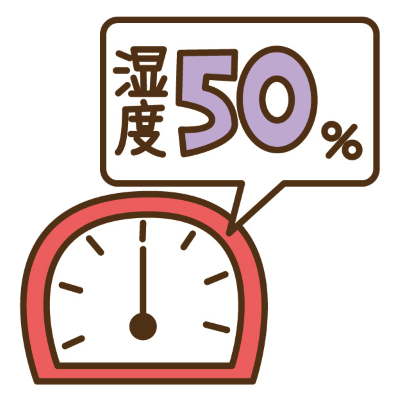 湿度50%