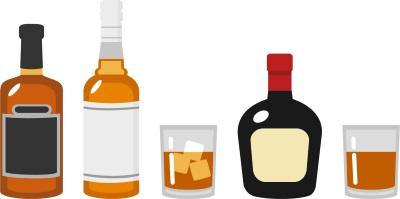 アルコール度数が高い蒸留酒