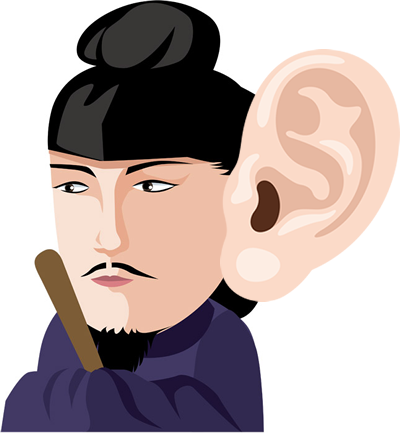 聖徳太子の人並み外れた耳