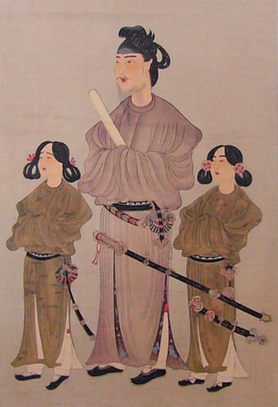 聖徳太子の肖像画