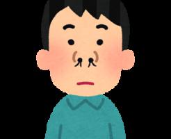 鼻毛が太い