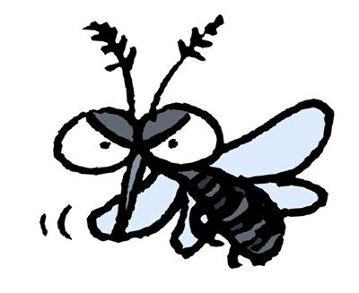 しぶとい蚊