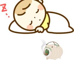 蚊取り線香と赤ちゃん