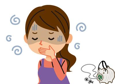 蚊取り線香の匂い